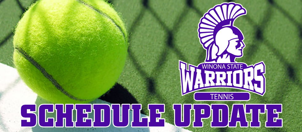 Tennis season finale cancelled due to weather - Winona State